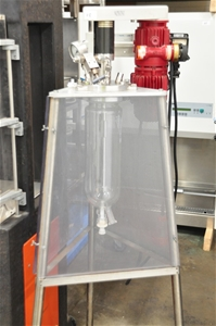 Jacketed Glass Reactor 4L, with impeller