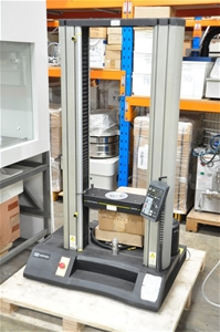 Tensile tester with spare parts (service