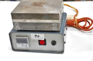 Hotplate 170mm x 170mm plate with extern