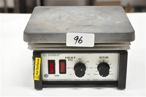 Hotplate magnetic stirrer with 180mm x 2