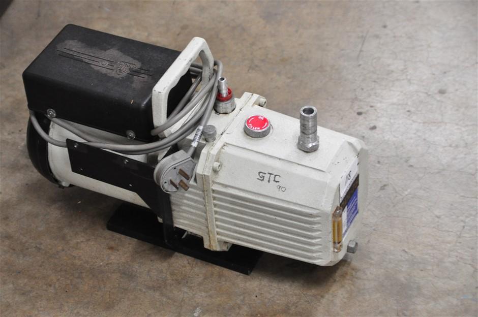 Vacuum pump dual stage oil rotary vane, 240V. Jayvac DDL75 (266478-118)