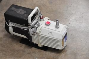 Vacuum pump dual stage oil rotary vane,