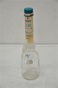 Bottle dispenser 10ml x 0.25ml with 500m