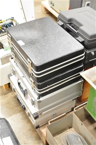 (Qty of 7) Instrument cases, assorted em