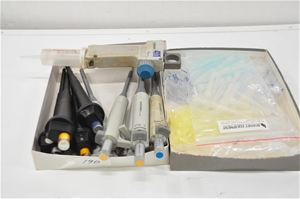 Pipettors assorted variable volume inclu