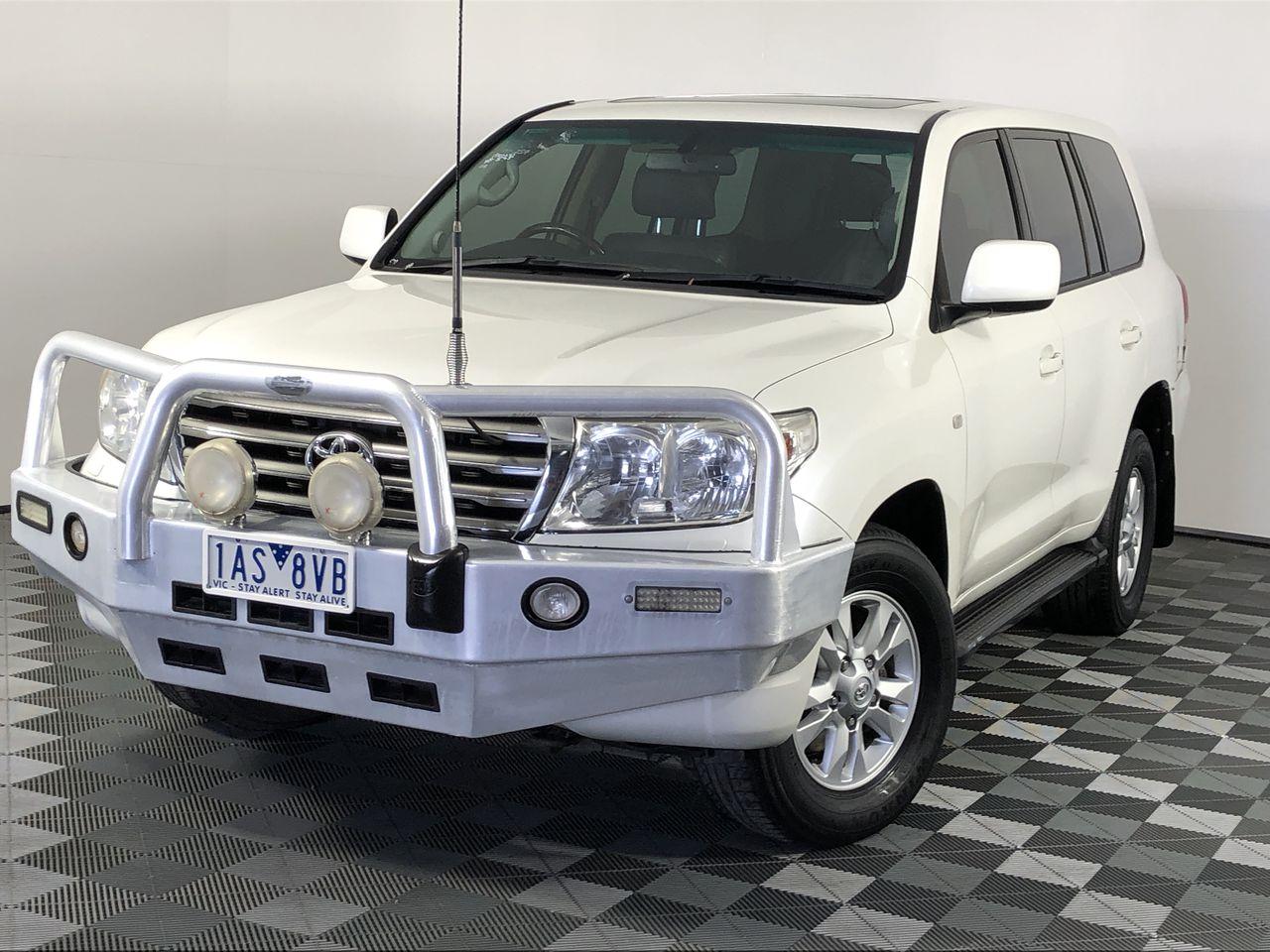 2007 Toyota Landcruiser Sahara (4x4) VDJ200R T/Diesel Auto 8 Seats Wagon