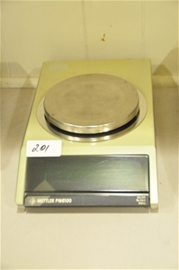 Balance top pan 6kg x 0.01g external cal
