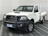 Unreserved 2012 Toyota Hilux Workmate (4x4) KUN26R