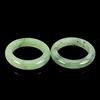 22.80ct. Genuine Green Jadelite Rings 2 Piece