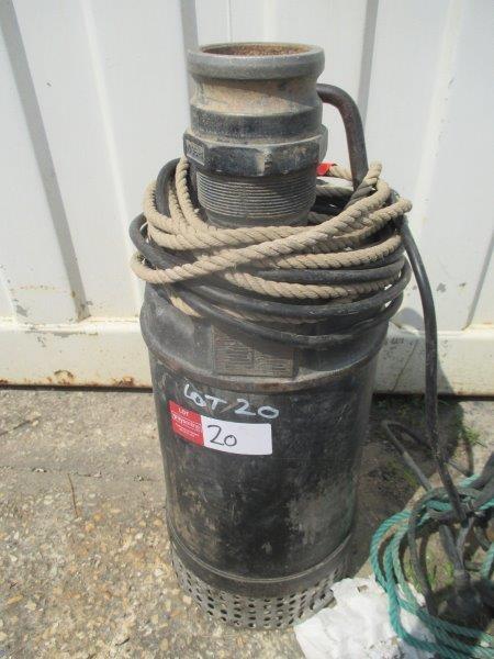 FEC Submersible Pump - Burleigh
