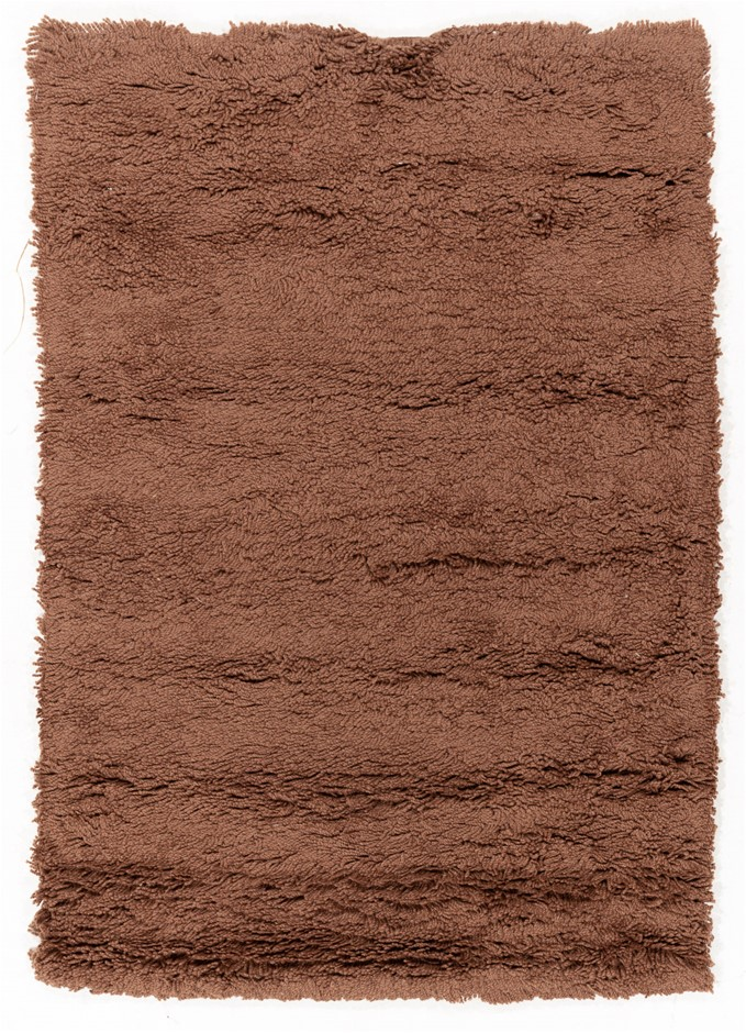 Pit loomed shaggy rug Size(cm): 120 x 170