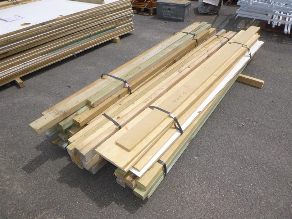 Qty 3 x Bundles of Treated Pine Wood