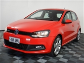 Unreserved 2012 Volkswagen Polo GTI 6R Auto Hatchback