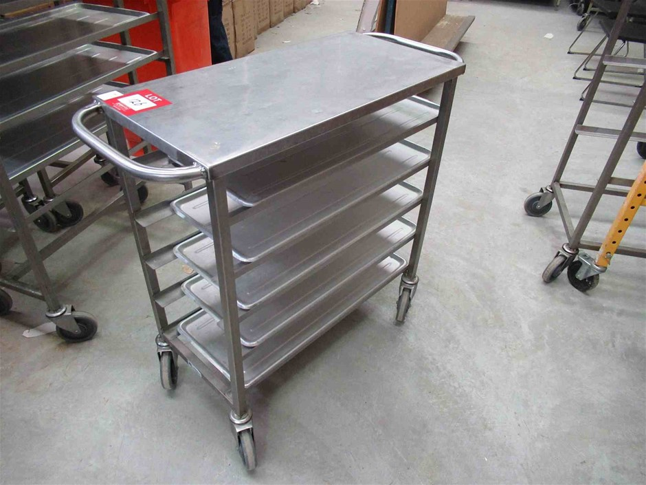 5 Tray Stainless Steel Frame