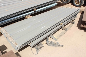 Quantity of Trim Deck Style Sheeting