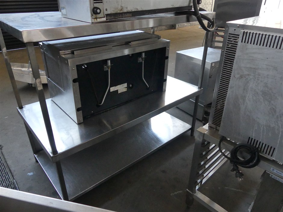 3 Tier Stainless Steel Storage Bench