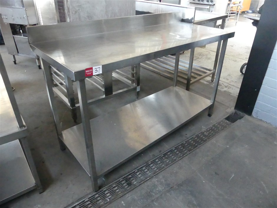 Stainless Steel Food Preparation Bench