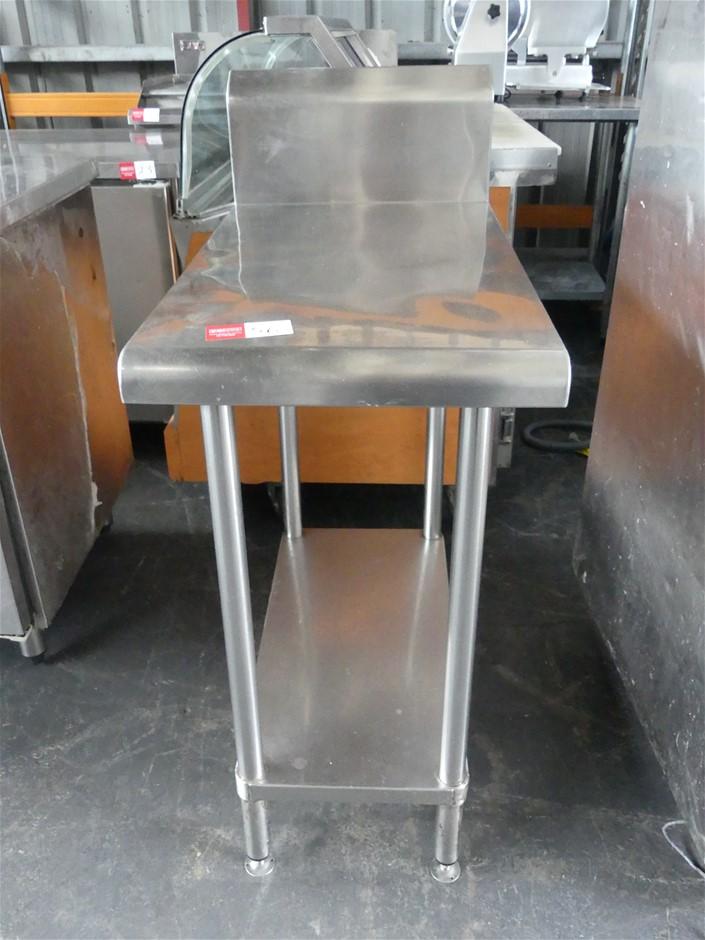 Stainless Steel Food Preparation Bench Lower Shelf