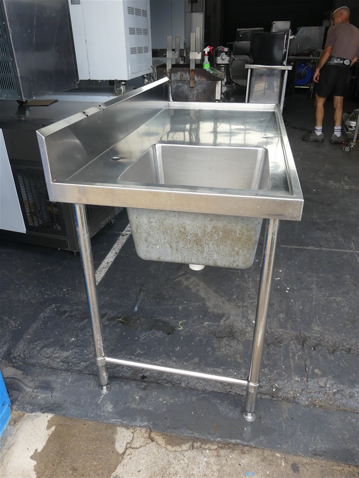 Stainless Steel Washing Up Bench