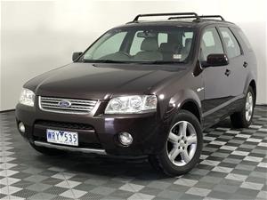 2008 Ford Territory Ghia (4x4) SY Automa