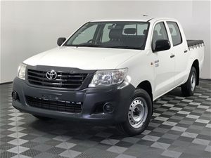 2012 Toyota Hilux Workmate TGN16R Automa