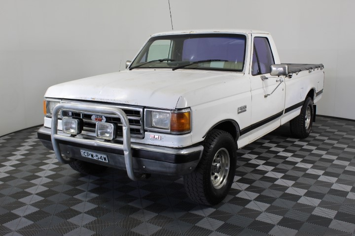 1989 Ford F150 302 Twin Throttle Manual Ute