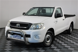 2010 Toyota Hilux SR GGN15R Automatic Ca