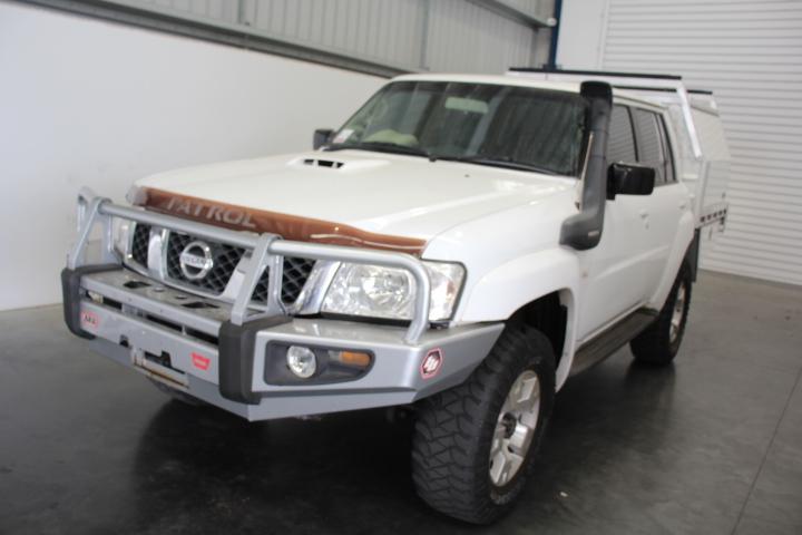 2004 MY05 Nissan GU Patrol ST (Dual Cab T/Diesel) Auto