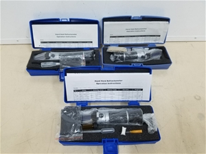 (QTY of 3) Hand Held Refractometers 58-9