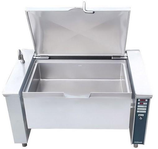 AMBACH ELECTRIC 200 LITRE TILTING BRATT PAN, QUALITY COMMERCIAL KIT