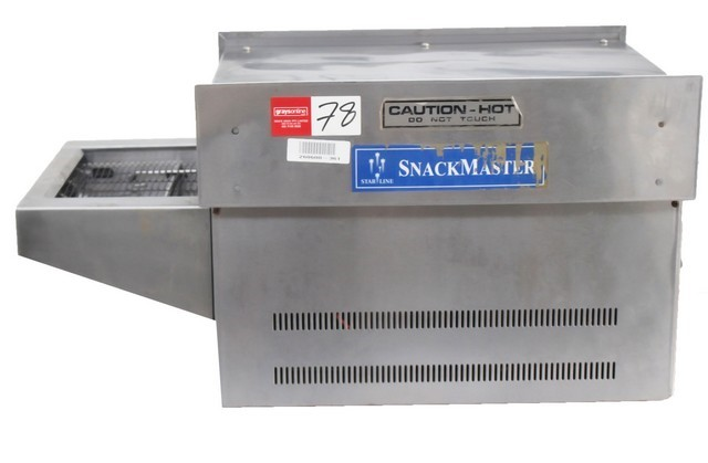 SNACK MASTER CONVEYOR TOASTER , QUALITY COMMERCIAL KITCHEN EQUIPMEN