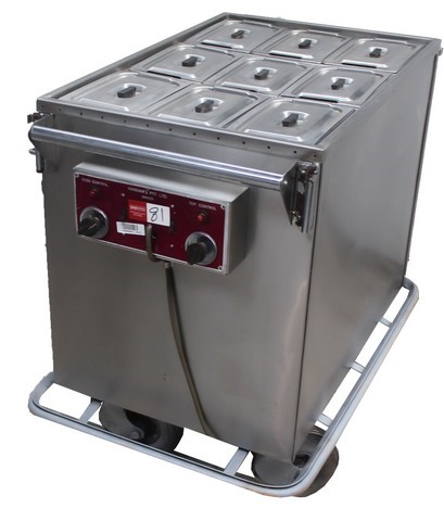 COMMERCIAL OVEN/WARMER TROLLEY, QUALITY COMMERCIAL KITCHEN EQUIPMEN