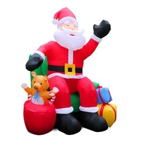 Jingle Jollys Inflatable Christmas Santa