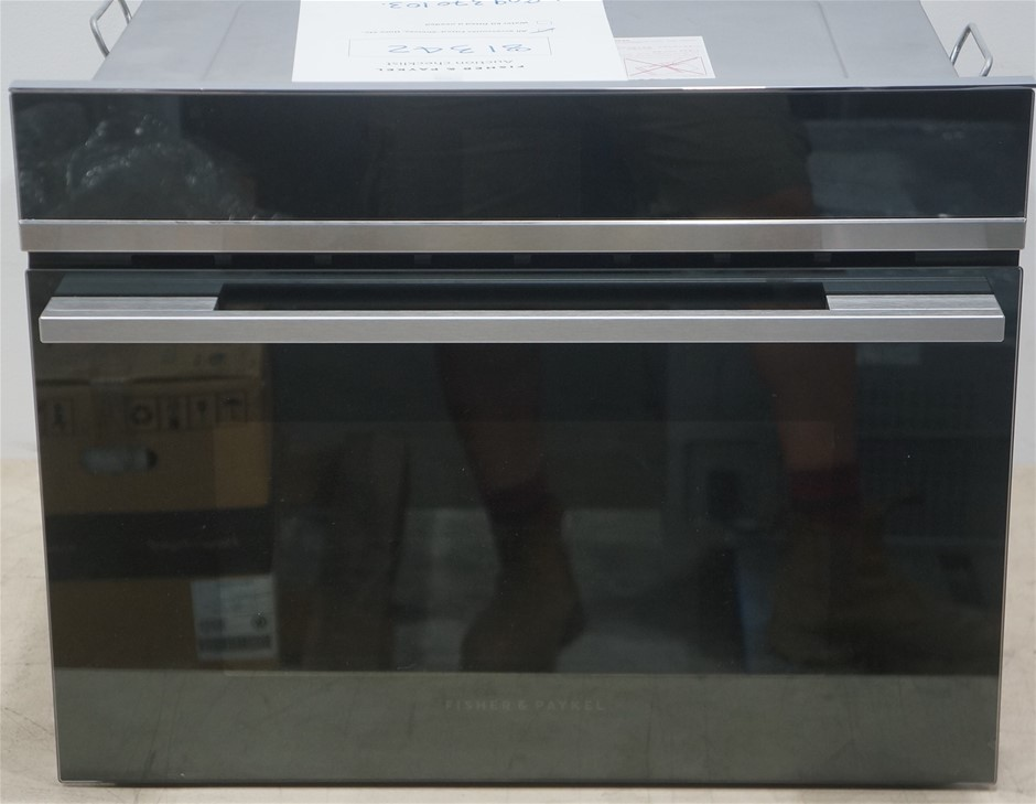 Fisher & Paykel OM60NDB1 900W 60cm Built-in Combi-Microwave Oven