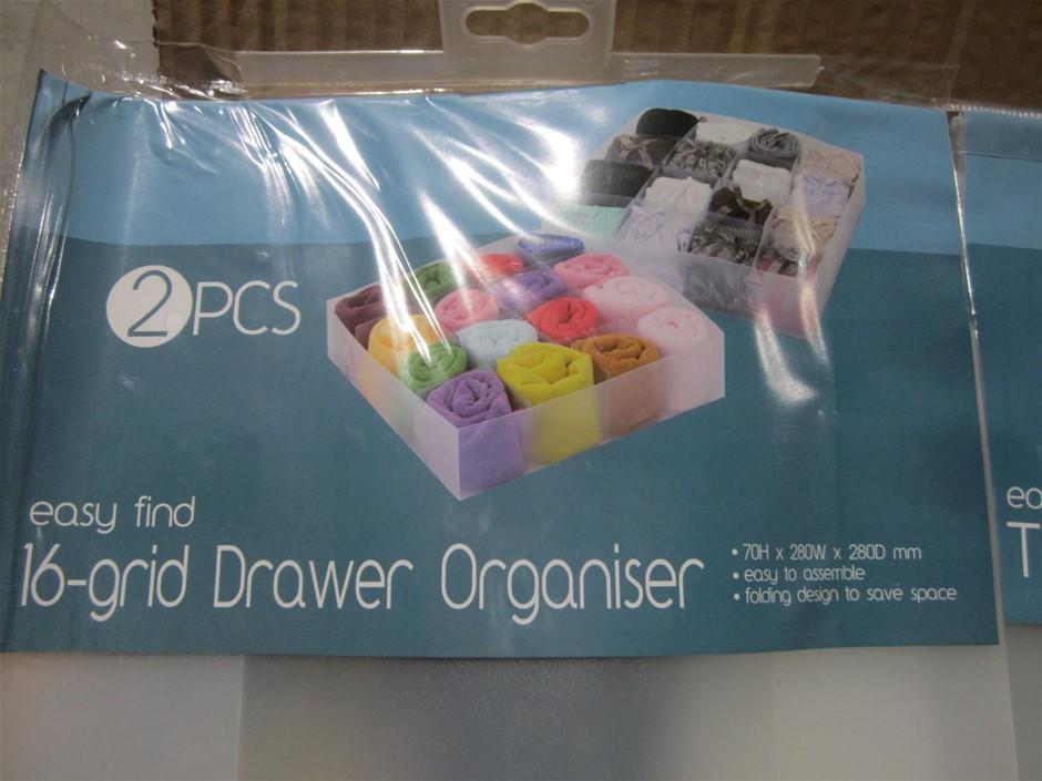 Box Of Drawer Organisers