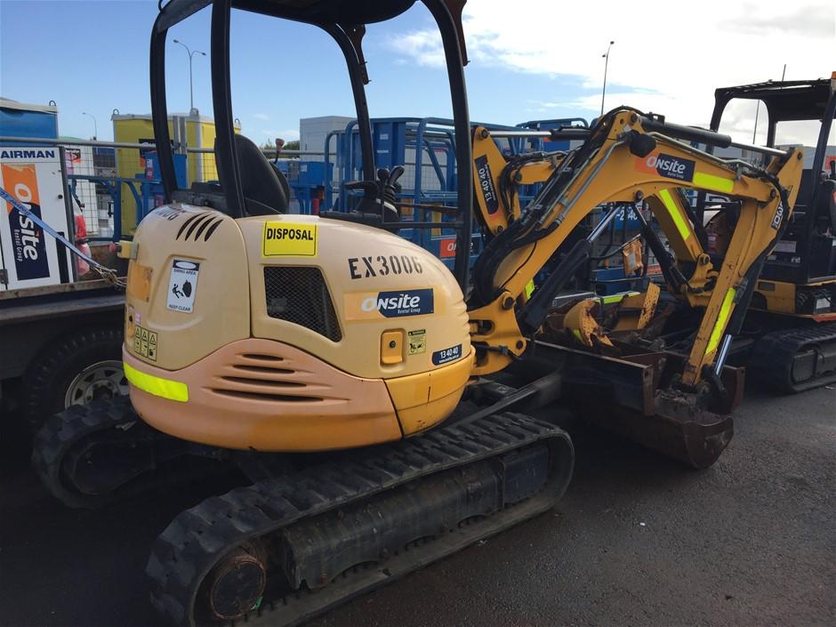 2012 JCB 8030ZTS 3.2T Diesel Excavator (Location: Wangara)