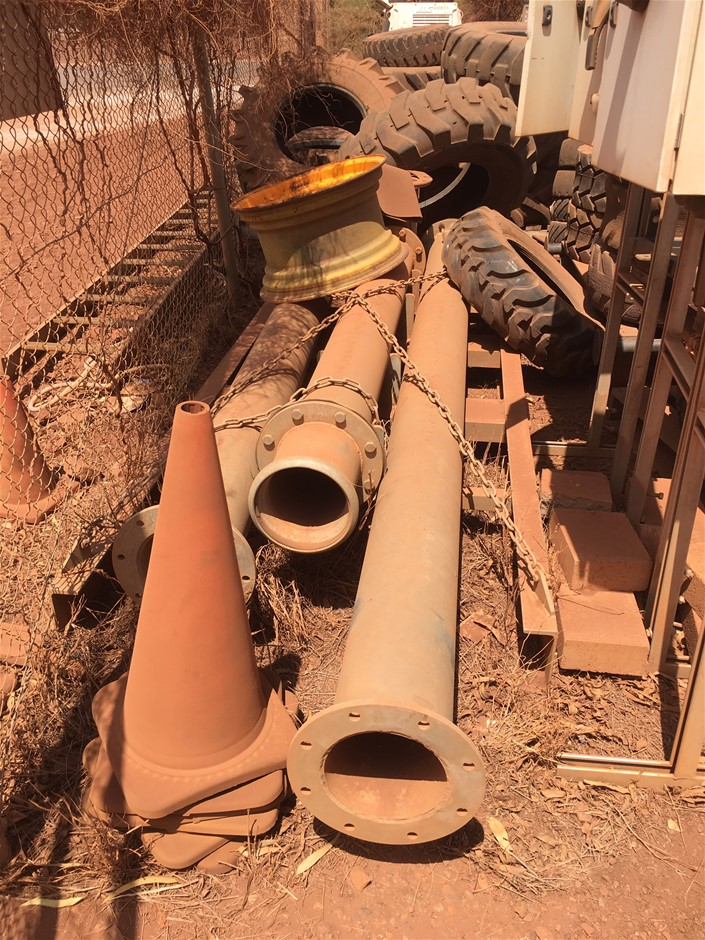 200mm Stand Pipes (Location: Tom Price)
