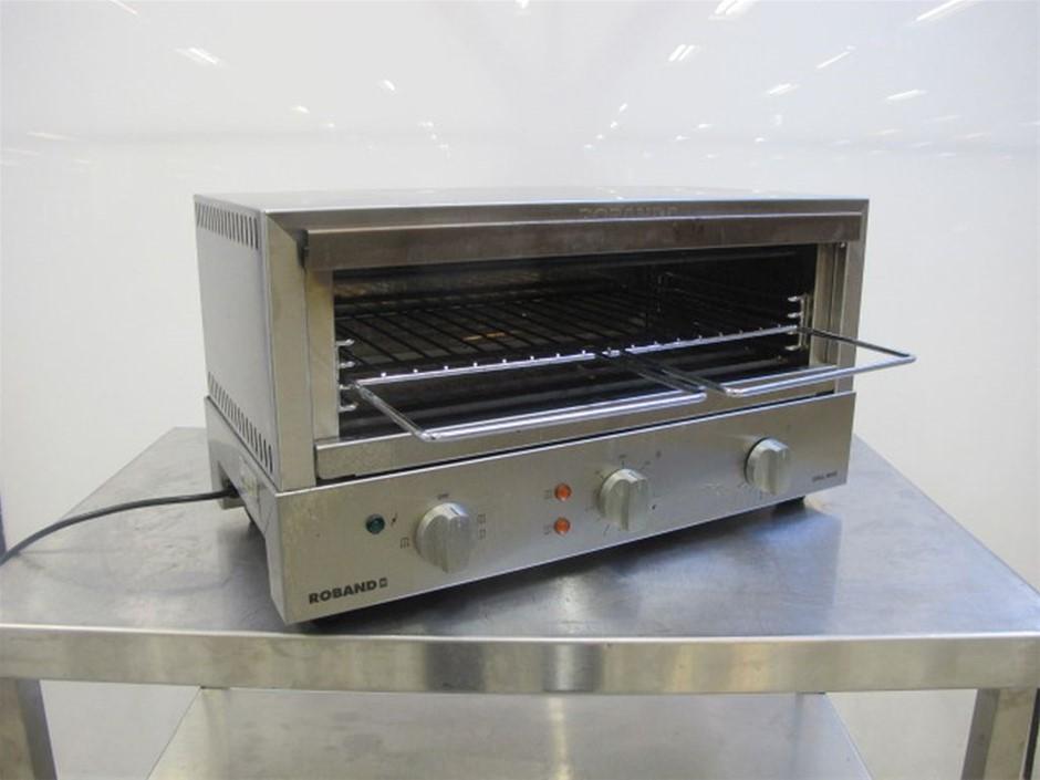 Roband Salamander Grill Max Toaster GMX810 Model: GMX810 8 sl