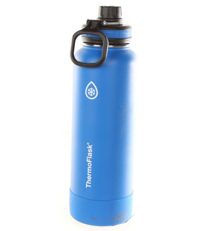 THERMOFLASK 24-Ounce Double Wall Vacuum Insulated Stainless Steel Water Bot