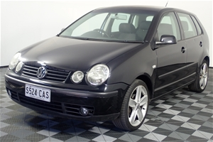 2003 Volkswagen Polo SE 9N Automatic Hat
