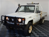 Unreserved 2003 Toyota Landcruiser (4x4) Manual Cab Chassis