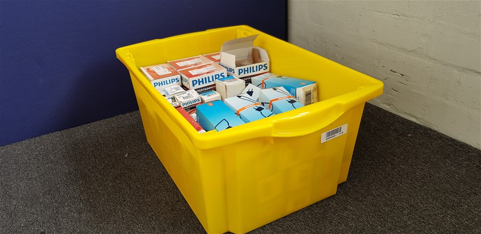 Award Store away 44 Litre Yellow Plastic Storage Container