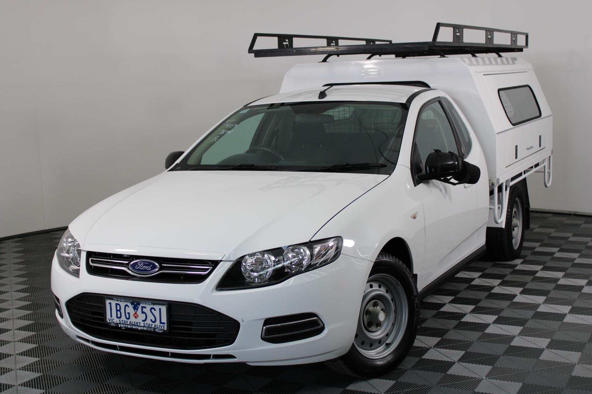 2013 Ford Falcon (LPI) FG II Automatic Cab Chassis (EX GOV)