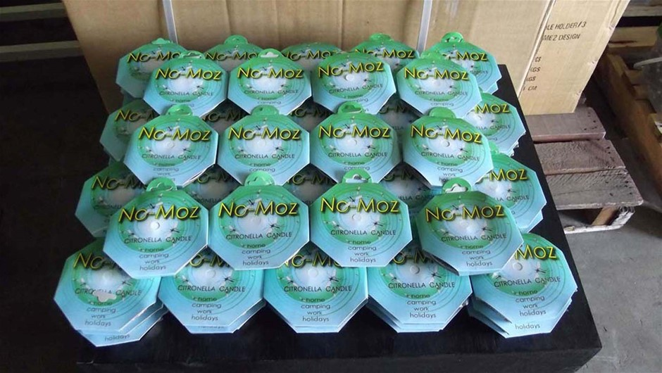 72 x No-Moz Citronella Candle Handy Pack small foil