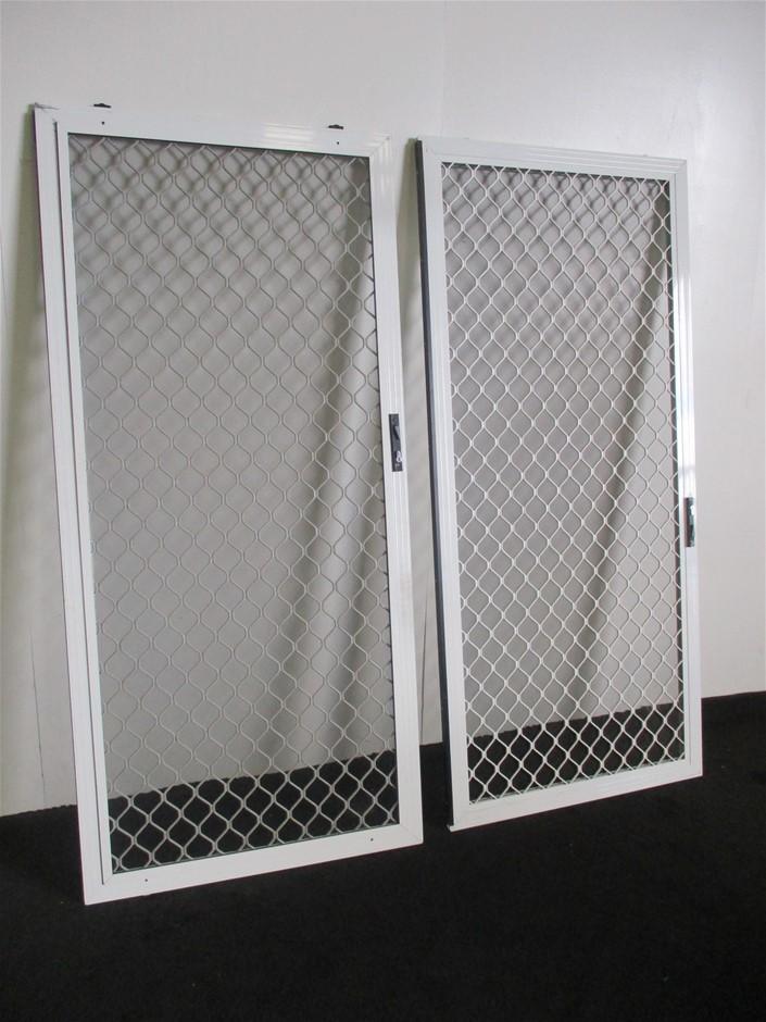 Qty 2 x Roller Screen Doors