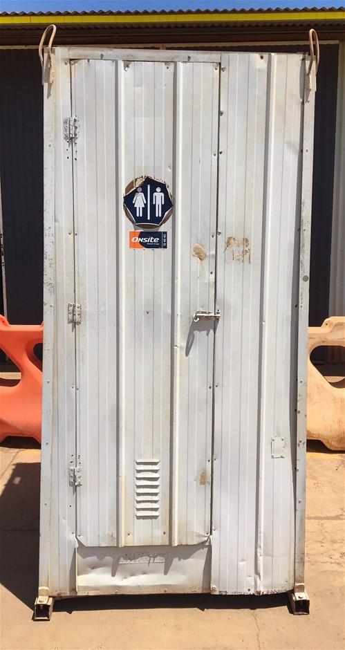 Portable Toilet Cubicle (Location: Port Hedland, WA)