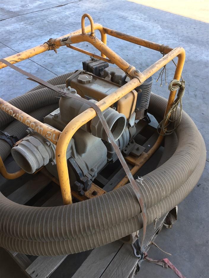 """2012 Robyn DY42DHSE 4"""" Diesel Transfer Pump (Location: Karratha, WA)"""