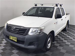 2014 Toyota Hilux Workmate TGN16R Automa