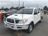 2007 Toyota Hilux (4x2) SR KUN16R Turbo Diesel Manual Dual Cab