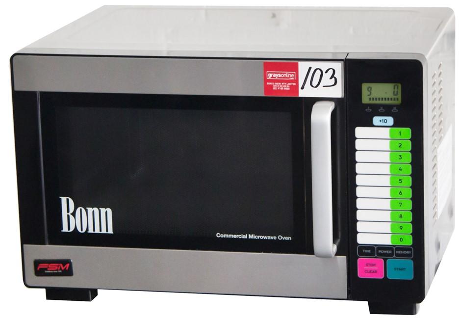 Bonn 1200Watt Commercial Stainless Steel Microwave Oven